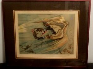 salvador dali quot;homage to lincolnquot; hand signed lithograph pre 1983 $6399.00