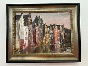 Original Oil Painting by Andrey Ahaltsev 1999 13.5x10 inches Framed $160.00