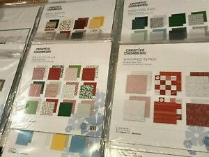 CREATIVE MEMORIES 12X12 DESIGNER PAPER PACKS NEW amp; RETIRED YOU CHOOSE $6.00