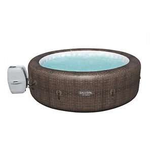 Bestway SaluSpa 85 x 28 In 7 Person Inflatable St Moritz AirJet Hot Tub Pool Spa