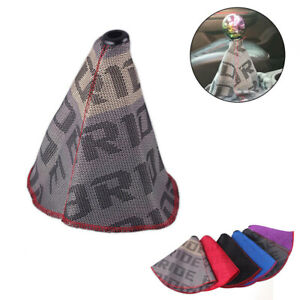 Racing Bride Hyper Fabric Shift Knob Shifter Boot Cover MT AT Stitches for Honda $9.59