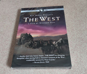 Ken Burns Presents The West : A Film by Stephen Ives DVD Set New USA seller $18.80