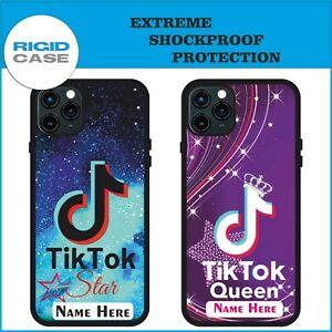 Personalized Star Phone Case Shockproof Kids Cover Boys Girls Queen Phone Case GBP 9.99