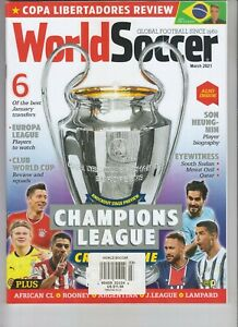 CHAMPIONS LEAGUE CRUNCH TIME WORLD SOCCER MAGAZINE MARCH 2021 $12.00