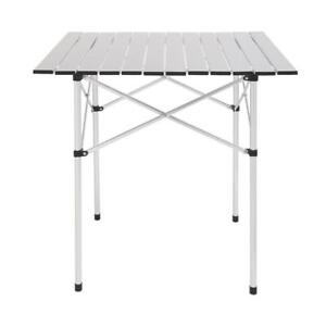 Square Camping Table Folding Table Aluminum Table Patio Furniture With Bag $29.95