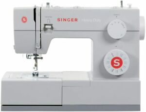NEW SINGER HEAVY DUTY SEWING MACHINE INDUSTRIAL PORTABLE LEATHER EMBROIDERY 4432 $219.99