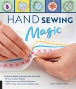 Hand Sewing Magic: Essential Know How for Hand Stitching $11.99