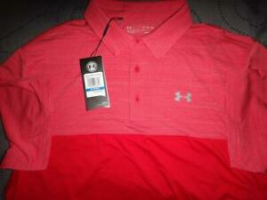 UNDER ARMOUR GOLF POLO SHIRT SIZE XL NWT $64.99 $44.99