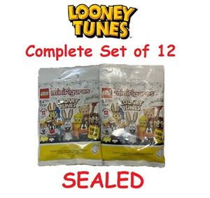 LEGO Looney Tunes Collectible Minifigures 71030 Complete Set of 12 🔥IN HAND🔥 $68.99