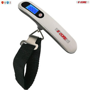 Luggage Scale Handheld Portable Electronic Digital Travel 110LBS 5Core LSS005 $6.99