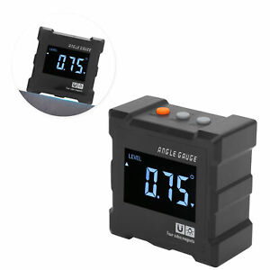Digital Inclinometer Magnetic Protractor LCD Electronic Angle Gauge Instrument $24.20