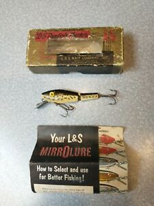 Vintage Fishing Lure Lamp;S PANFISH MASTER 0021 BOX AND PAPERS MIRROLURE