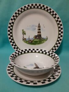 Alco Industries plate set of 3 $31.00