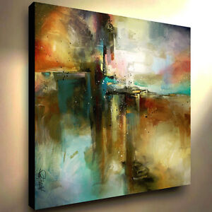 Large Abstract Art Giclee canvas print PAINTING Contemporary DECOR Mix Lang $289.00