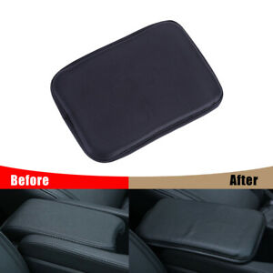 Car Universal PU Leather Armrest Pad Center Console Cushion Mats Cover Protector $9.85