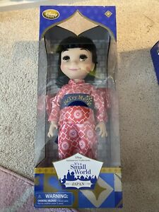 Disney Store Its A Small World Japan Animators Collection Singing Doll 16 $75.00