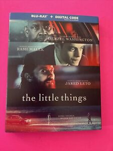 The Little Things Blu ray No Digital W Slipcover LIKE NEW *Free Shipping* $13.99