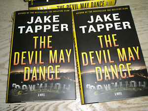 THE DEVIL MAY DANCE by Jake Tapper SIGNED 1st print edition HC BRAND NEW $30.00