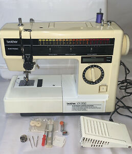 Vintage Brother Sewing Machine VX 950 Foot Controller Carrying Case Works $50.00