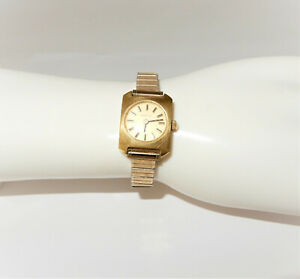 Vintage Womens CERTINA Swiss Manual Wind Watch JB Band Working $18.00