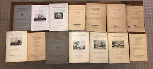 36 Vintage Currier And Ives Lithograph Auction Catalogs Mostly 1920's amp; 30's $25.00