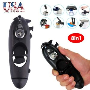8in1 Can Opener Jar Lid Bottle Beer Manual Remover Smooth Edge Safe Kitchen Tool