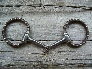 Bit Pony Antique with Dots Snaffle $32.95