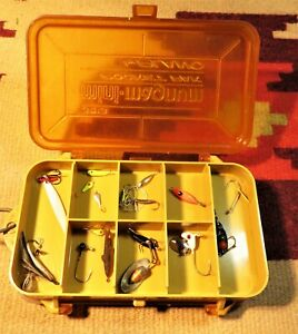 Vintage Lot of Trout Crappie Panfish Lures In Nice Mini Magnum Pocket Plano