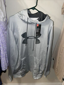 under armour hoodie large men's Gray $40.00