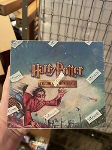 Harry Potter Quidditch Cup Booster Box FACTORY SEALED 36 Packs $250.00