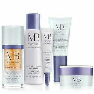 Meaningful Beauty 5 Piece Starter Kit Gift Set w Youth Activating Serum