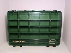 PLANO 250 Double Action Sided Satchel Tackle Fishing Box Organizer Crafts Parts