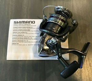 Shimano Sienna 2500 FD Spinning Fishing Reel Classic Style New