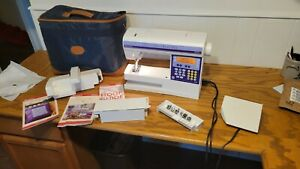 VIKING HUSQVARNA IRIS SEWING EMBROIDERY QUILTING SEWING MACHINE W EXTRAS $350.00
