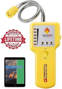 Y201 Propane and Natural Gas Leak Detector; Portable Gas Sniffer to Locate Gas