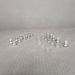 Shimano Triple Chainring Bolts Washers Spacers Nuts 25 Pieces