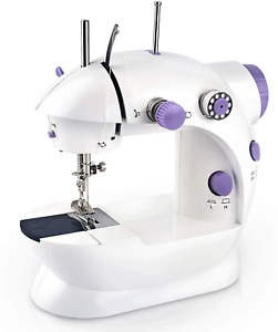 Portable Sewing Machine Mini Electric Sewing Machines Household Lightweight Ha $85.97