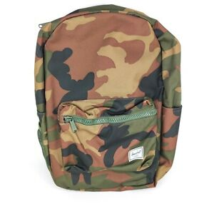 Herschel Backpack Camouflage with folding easy wipe changing mat NEW