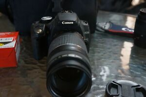 Canon EOS Rebel XT KIT Camera with Two Lenses