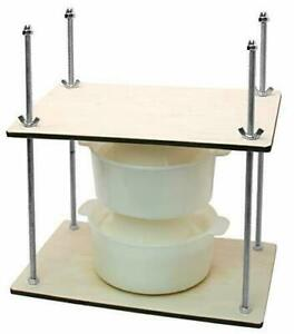 Cheese Making Kit 12 in Metal Guides 13 in Cheese Press 2 Cheese Making mold