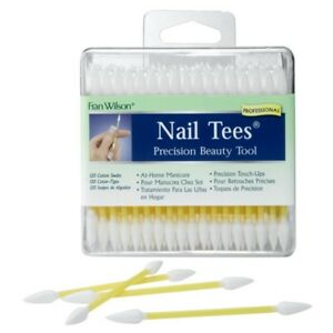 NAIL TEES Double Pointed Cotton Swabs 120 ctns FREE SHIPPING $7.49