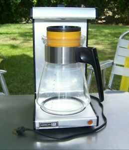 Vintage Norelco 12 Dial A Brew Coffee Maker Model HD5135 Made in USA