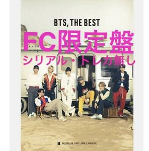 BTS THE BEST Fan club limited edition music CD Photo booklet Sticker Used