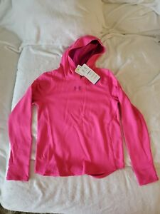 girls under armour hoodie xl pink NWT msrp $44.99 $24.99