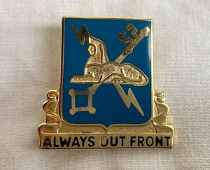 Vintage Army Pin quot;Always Out Frontquot; Military Intelligence $10.00