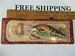 Discontinued The Original Fred Young Big O noc 3in.Body lurescrankbaitsL@@K