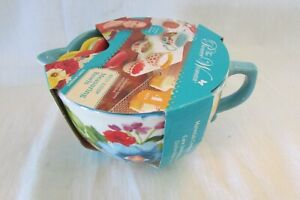 PIONEER WOMAN GORGEOUS FLORAL MEASURING BOWL SET BREEZY BLOSSOM NEW