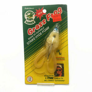 Discontinued Old Stock Strike King Grass Frog Bass Fishing Lure in Box