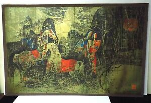 Magnificent Rare LARGE Lebadang 242 245 Numbered and Signed Lithograph $950.00