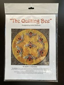 The Quilting Bee Wall Hanging Quilt Applique Pattern JoAnn Hoffman Opened $16.99